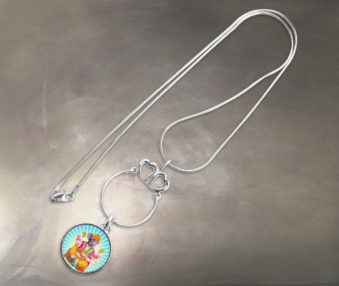 Pop Art Koalas Necklace 5