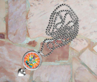 Pop Art Koalas Necklace 7