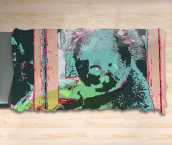 Pop Art Koalas Twin Flat Sheet