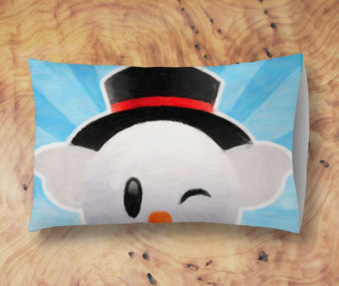 Snow Koalas App Icon Standard Pillow 2