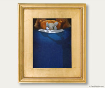 Snow Koalas Classic Painting 11-by-14 Inches Gold Frame 36