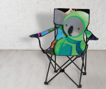 Space Koalas App Icon Beach Chair